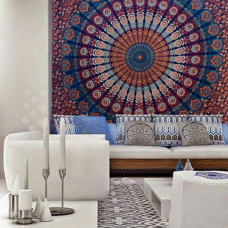 Bedroom Styleideas: 70 Bohemian Tapestry Ideas For Boho Home