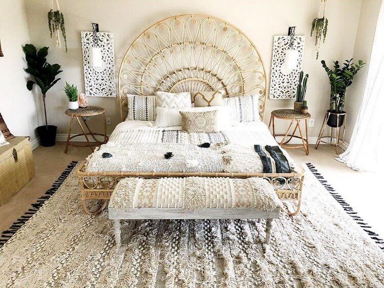 Relaxing And Cute Boho Bedroom Ideas Bohemain Boho